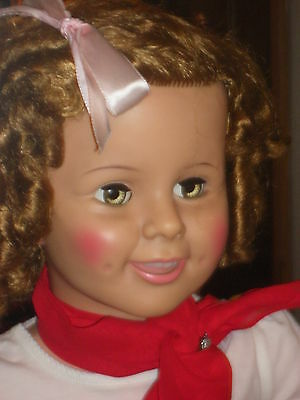 IDEAL SHIRLEY TEMPLE PLAYPAL UP FOR ADOPTION 1959-60 55 years old original dress