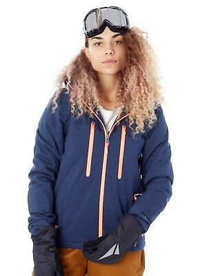 Protest Damen Snowboardjacke Giggile Ground Blau