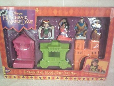 Disney Hunchback of Notre Dame Festivals of Fools Put N Play
