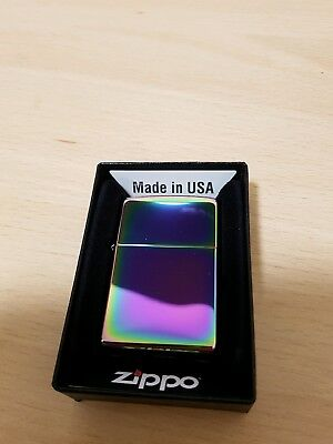 Brand new Spectrum zippo lighter