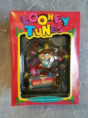 Warner Brothers Looney Tunes Taz Collectible Christmas Ornament