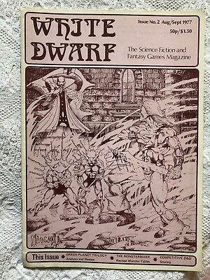 White Dwarf - Issue 2 - 1977 - Extremely Rare