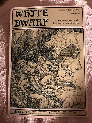 White Dwarf - Issue 3 - 1977 - Extremely Rare