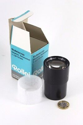 Rollei Rolleiscop Heidosmat 110mm f/2.8 Projection Lens, boxed EXC++