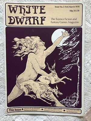 White Dwarf - Issue 5 - 1978 - Extremely Rare