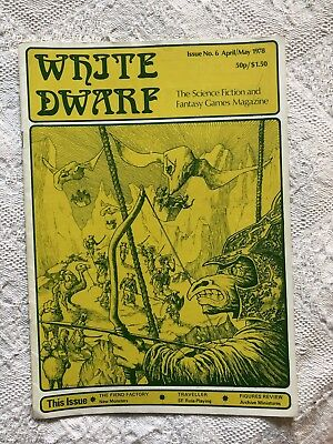 White Dwarf - Issue 6 - 1978 - Extremely Rare