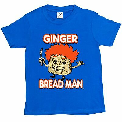 Gingerbread Man With Hair Ginger Bread Gingersnap Kids Boys T-Shirt