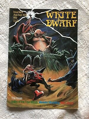 White Dwarf - Issue 8 - 1978 - Extremely Rare