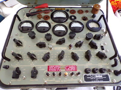 """T.v - 2A / U  """" The Ultimate """" Military Tube Tester / Fixed Price"""