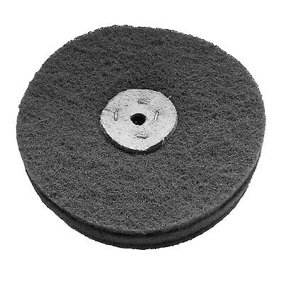 "6"" x 1½"" VERY FINE GRADE SCOTCH BRITE  BUFFING ABRASIVE WHEEL SATINISING CARBIDE"