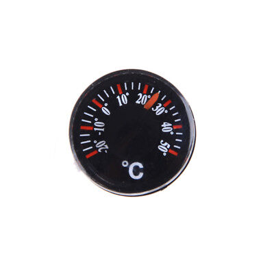 2pcs Diameter 20mm Plastic Round Mini Thermometer Celsius hydrothermograph Pop