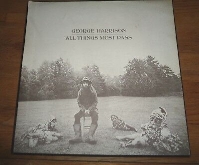 George Harrison  ‎– All Things Must Pass  3xLP Box Set  All 1U