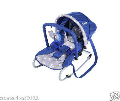 Fashion Security Blue Comfortable Baby Swing Chair/Baby Rocking Chair JY