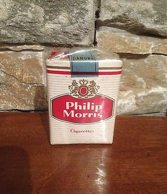"Ancien Paquet De Cigarettes Plein ""Philip Morris"" Pour Collection"