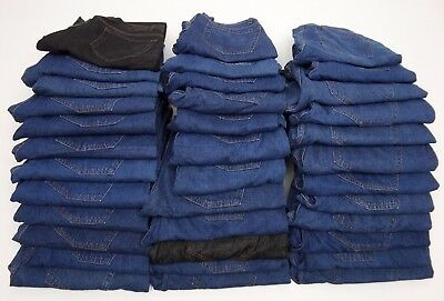 Joblot Ex Collection Jeans 35 PAIRS (GRADE A+B) BNWOT EXCELLENT FOR RESALE  AB12