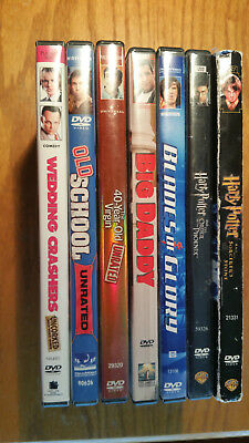 Lot of DVD Movies - Good Working Condition, Some Fullscreen, Some Widescreen