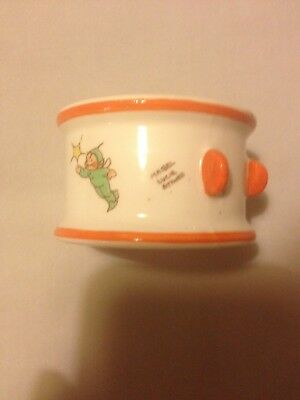 Vintage 1930s Shelley Art Deco Mabel Lucie Attwell Boo Boos China Napkin Ring