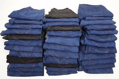 Joblot Ex Collection Jeans 35 PAIRS (GRADE A+B ) BNWOT EXCELLENT FOR RESALE  AB7