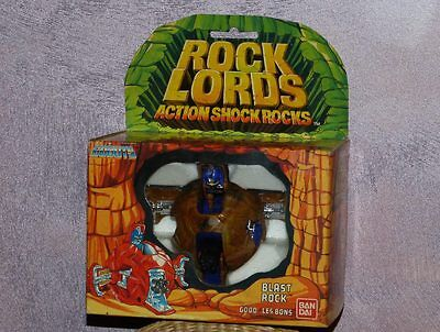 ROBO MACHINE ROCKLORDS ROCK LORDS : BLASTROCK - BANDAI vintage 80's - NEUF