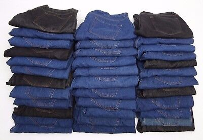 Joblot Ex Collection Jeans 35 PAIRS (GRADE A+B ) BNWOT EXCELLENT FOR RESALE  AB3