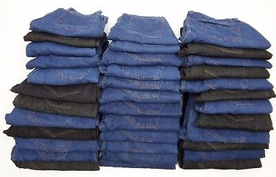 Joblot Ex Collection Jeans 35 PAIRS (GRADE A+B ) BNWOT EXCELLENT FOR RESALE  AB2