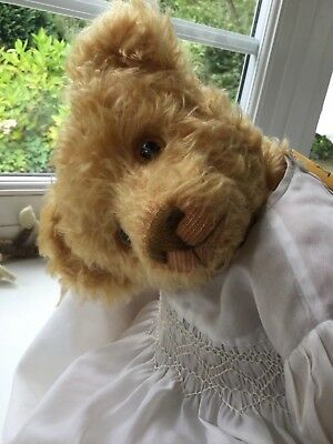 "Wonderful 20"" Teddy Bear Limited 1 of 1 Mohair "" Timothy "" by Wimblebury Bears"