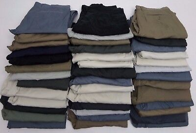Joblot EX-M&S Chinos 40 PAIRS (GRADE B + ) BNWOT EXCELLENT FOR RESALE  REF:D12