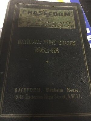raceform up-to-date chaseform 1962/63
