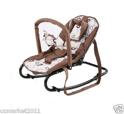 Fashion Security Coffee Comfortable Baby Swing Chair/Baby Rocking Chair JY