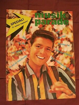 MUSIK PARADE+25.10.1965!+RARE German Musik Mag+C.Richard/+Stones+McCartney+Beat+