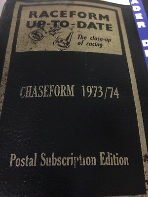 raceform up-to-date chaseform 1973/74