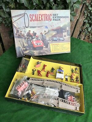Rare Vintage 1960's Scalextric Set Extension Pack Hp/1