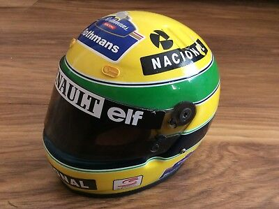 1994 1:2 Scale Ayrton Senna Model Helmet