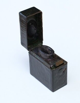 Antique Victorian Travelling Inkwell