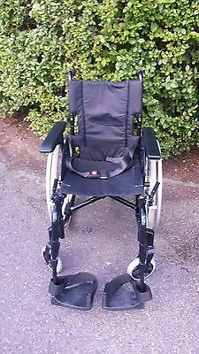 """Invacare Action 2  Self Propelled Wheelchair 17"""" x 17"""""""