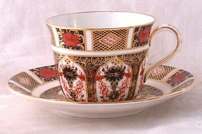 Royal Crown Derby Old Imari Cup And Saucer Pattern 1128