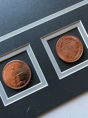 Double Matte with Constitutional Right To Bear Arms Copper Coins