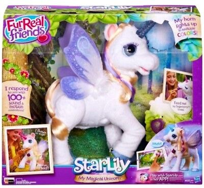 FurReal Friends - Fantasy Collection - StarLily: My Magical Unicorn Pet
