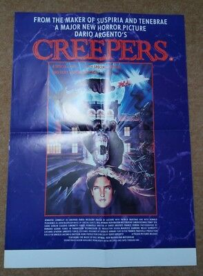 CREEPERS (PHENOMENA) & THE KILL-OFF Original UK Video Posters. Graham Humphreys
