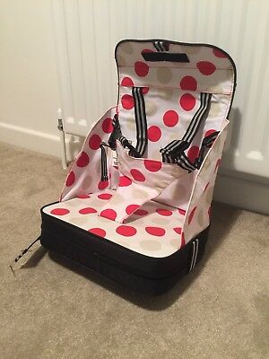 Polar Gear Baby Go Anywhere Booster Seat / Portable High Chair for baby toddler