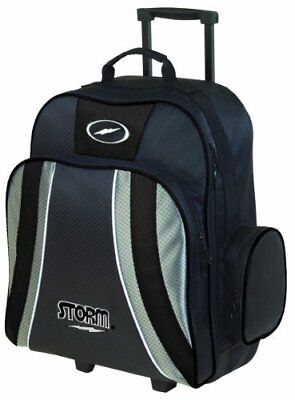 Storm Rascal Roller Bowling Bag 1-Ball, Black by Storm