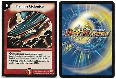 Duel Masters Fiamma Ciclonica 88/110 Non Comune The Real_Deal Shop