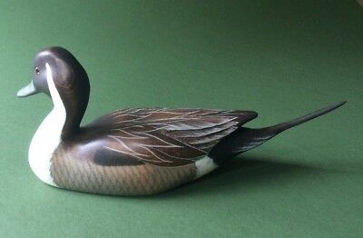 Big Sky Carvers Duck Pintail Bird Decoy. Signed