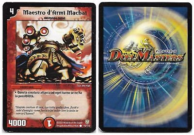 Duel Masters Maestro D'armi Machai 73/110 Comune The Real_Deal Shop