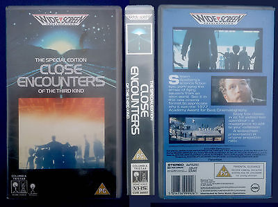 VHS, Close Encounters of the Third Kind, USA 1977, engl. OF, Widescreen