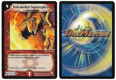 Duel Masters Volcanodon Superesplosivo 87/110 Non Comune The Real_Deal Shop
