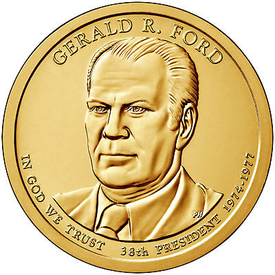 2016-D Gerald  Ford  Presidential Dollar Coin--Us Mint