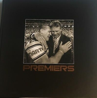 Cronulla Sharks PREMIERS Photo Book Signed By Gal