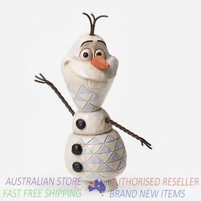 Jim Shore Disney Traditions YOUNG OLAF FROM FROZEN figurine 4050766 BNIB
