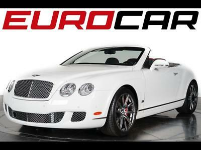 2011 Bentley Continental GT Speed Convertible 80-11 Edition 2011 Bentley Continental GT Speed Convertible 80-11 Edition - ONLY 80 BUILT!